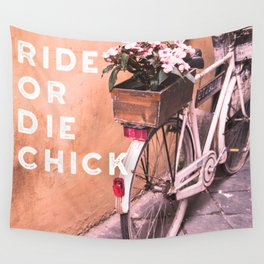 Ride or Die Chick Wall Tapestry