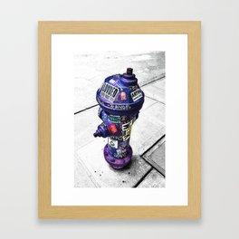 HYDRATE Framed Art Print