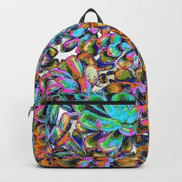 Floral tribute [galaxy] Backpack