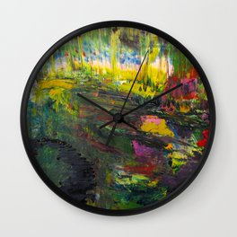 Field of Serenity Wall Clock