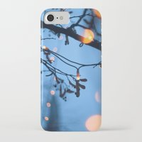 fireflies iPhone & iPod Cases featuring Fireflies by Den Brooks
