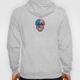 Baby Owl with Glasses and American Flag Hoody