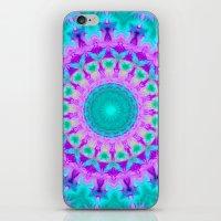 kaleidoscope iPhone & iPod Skins featuring Kaleidoscope by Sylvia Cook Photography
