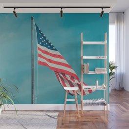 you waving at me? Wall Mural