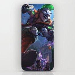 Trick Or Treat Ekko League Of Legends iPhone Skin