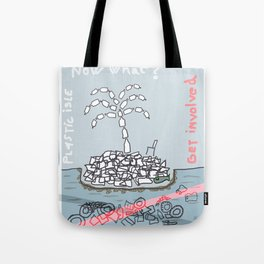Plastic Isle Tote Bag