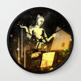 Silent Night Wall Clock