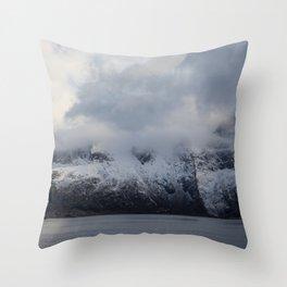 Vintage Mountain 15 Throw Pillow