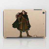 valar morghulis iPad Cases featuring Orome by wolfanita