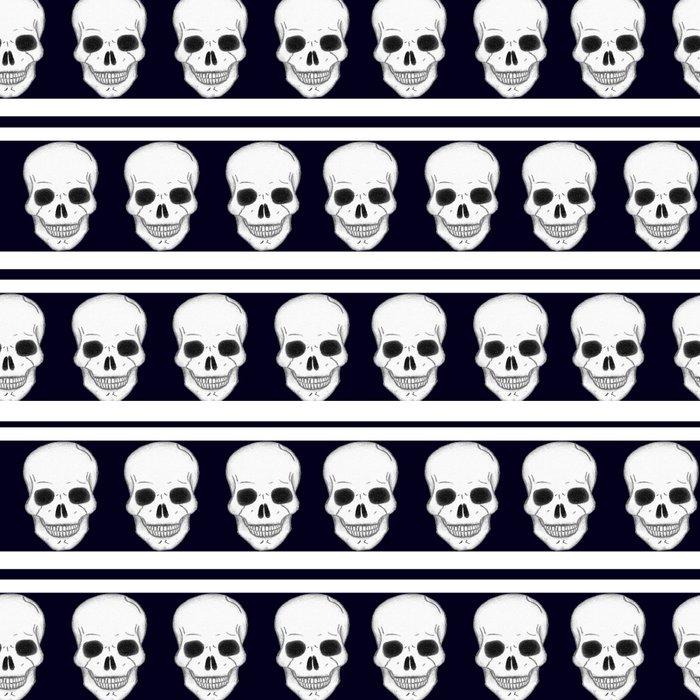 Pattern_skulls Leggings