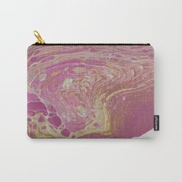 Pink and Petrified Carry-All Pouch
