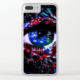 We The Peephole Clear iPhone Case