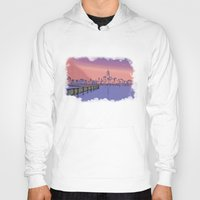 skyline Hoodies featuring Skyline  by Astralview