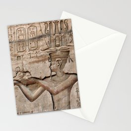 Horus and Temple of Edfu Stationery Cards