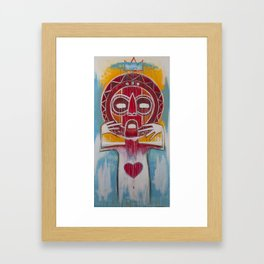 Untitled Warrior. Framed Art Print
