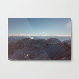 Alps Mountain Germany Color Photography Nature Metal Print