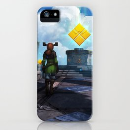Shattered Dimensions iPhone Case
