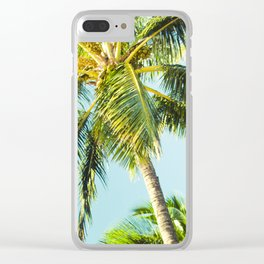Maui Paradise Palms Clear iPhone Case