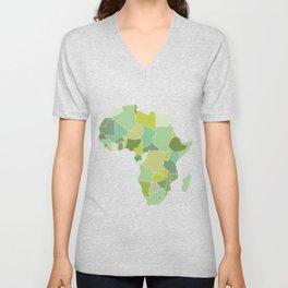 Africa Unisex V-Neck