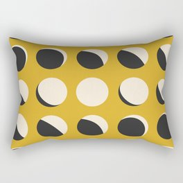 Moon Phased in Honey Rectangular Pillow