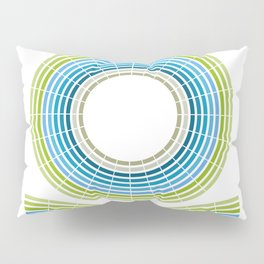 CIRCLE FLOWER Pillow Sham