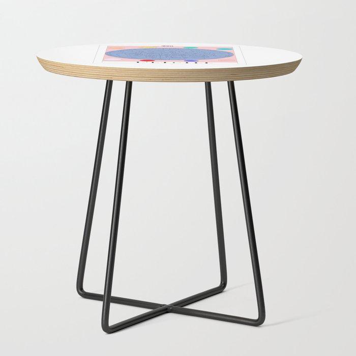 l etoile the star tarot card side table by virgodelics. Black Bedroom Furniture Sets. Home Design Ideas