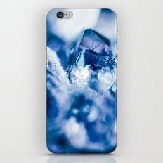 amethyst blue iPhone & iPod Skin