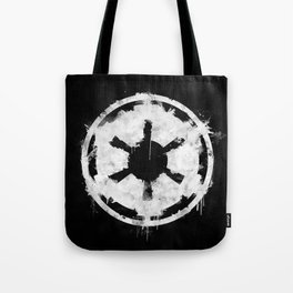 Imperial White Tote Bag