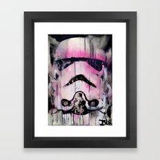 POP TROOPER Framed Art Print