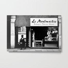 Boulangerie Le Montmartre Metal Print