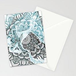 Marble Mandala Stationery Cards