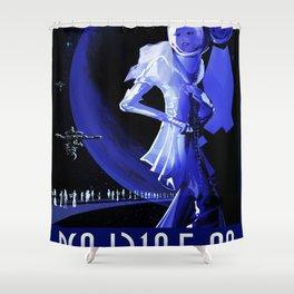 Vintage poster - Pso J318.5-22 Shower Curtain