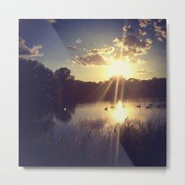 Spell of sunshine Metal Print