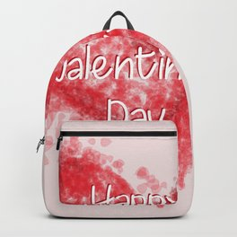Happy Valentines Day I Backpack