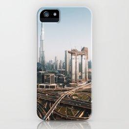 Dubai Skyline   Travel Photography   iPhone Case