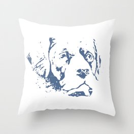 Dog Rescue Give Me Shelter Throw Pillow