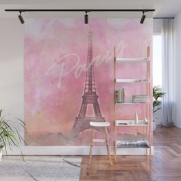 Paris City - Eiffel Tower Wall Mural