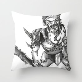 Gladiator Draven Throw Pillow