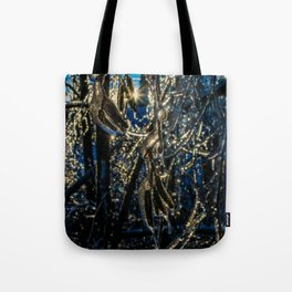Trees frozen in time Tote Bag