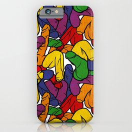 Schlong Song in Rainbow, All the Penis! iPhone Case