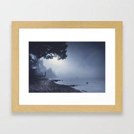 I feed on you Framed Art Print