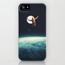 Returning to Earth with a will to Change iPhone Case