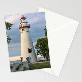 Marblehead Lighthouse at Lake Erie Sandusky area Ohio Stationery Cards