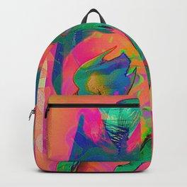 Psychedelic sketch Backpack
