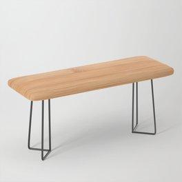 Cool elegant light brown bamboo wood print Bench