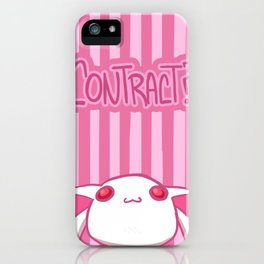 Contract? iPhone Case