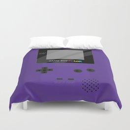 Gameboy Color - Purple Duvet Cover