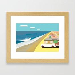 Holiday Camp II Framed Art Print