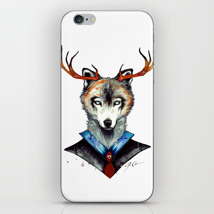-City Wolf- iPhone Skin