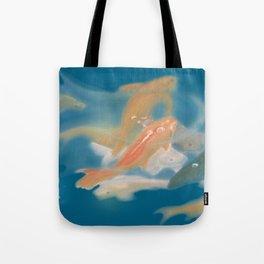 koi {blue} Tote Bag
